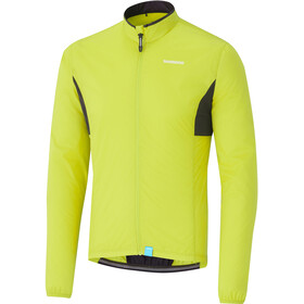 Shimano Compact Windbreaker Men neon yellow